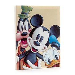 Mickey Mouse and Friends Canvas Print