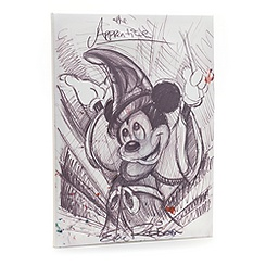 Mickey Mouse 'The Apprentice' Canvas Print