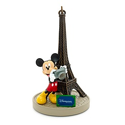 Mickey Mouse Eiffel Tower Ornament, Paris Collection