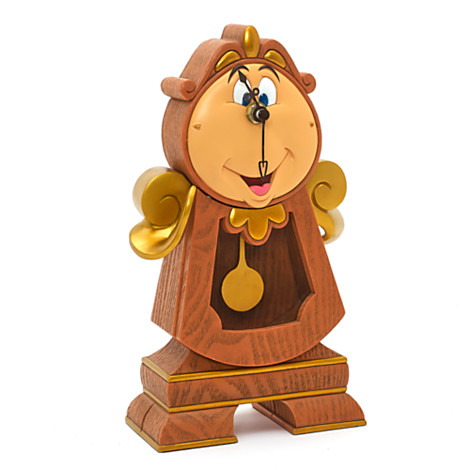 Cogsworth Pendulum Clock Disney Parks Collection