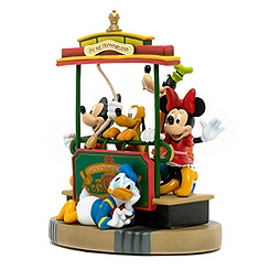 Mickey Mouse and Friends Trolley Figurine