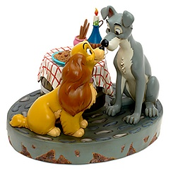 Lady and the Tramp Figurine