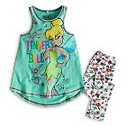 Tinker Bell Vest and Leggings For Kids