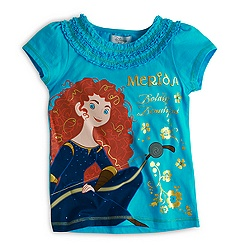 Brave Turquoise T-Shirt For Kids