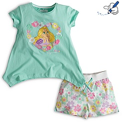 Rapunzel Shortie Set For Kids