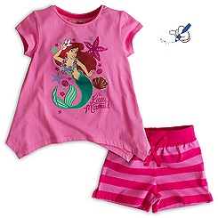 The Little Mermaid Shortie Set For Kids