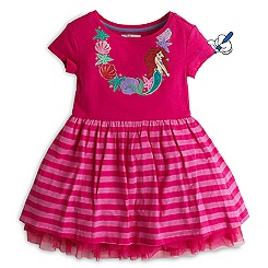The Little Mermaid Dress For Kids