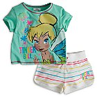 Tinker Bell Shortie Pyjamas For Kids