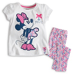 Minnie Mouse Nautical Pyjamas For Kids