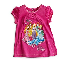 Disney Princess Shortie Pyjamas For Kids