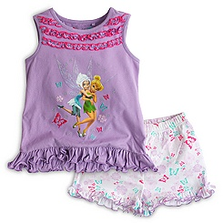 Fairies Shortie Pyjamas For Kids