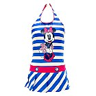 Minnie Mouse Nautical Swimming Costume For Kids