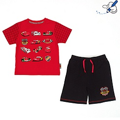 Disney Pixar Cars Shorts and T-Shirt Set For Kids