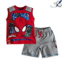 Spider-Man Short Set for Kids