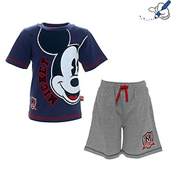 Mickey Mouse T-Shirt and Shorts Set For Kids