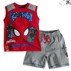 Spider-Man Vest and Shorts For Kids