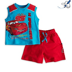 Cars Vest and Shorts For Kids