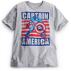 Captain America Men's T-Shirt