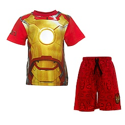 Iron Man Short Sleeve Pyjamas For Kids