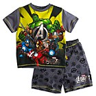 Avengers Assemble Short Sleeve Pyjamas For Kids