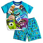 Monsters University Short Sleeve Pyjamas For Kids