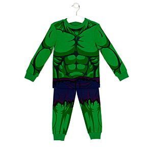 Hulk Costume Pyjamas For Kids-3 Years Picture