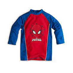 Spider-Man Rash Top For Kids