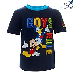 Mickey Mouse Boys Rule T-Shirt For Kids