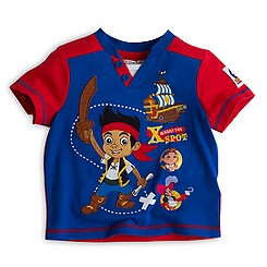 Jake and the Never Land Pirates T-Shirt and Shorts For Kids