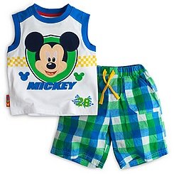 Mickey Mouse Vest and Shorts For Kids