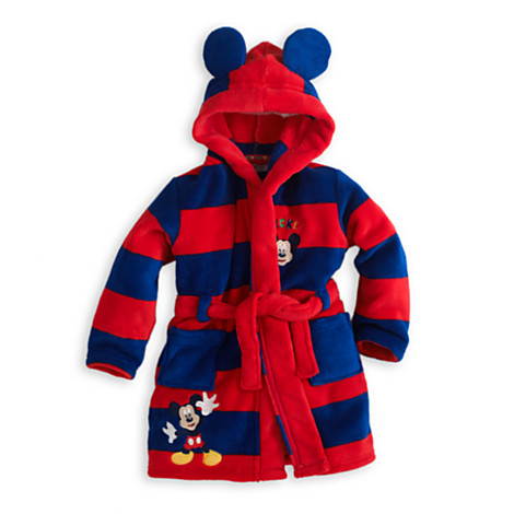 mickey mouse robe for kids the mickey mouse clubhouse. Black Bedroom Furniture Sets. Home Design Ideas