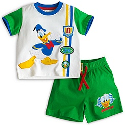 Donald Duck Short Sleeve Pyjamas For Kids