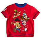 Jake and the Never Land Pirates Short Sleeve Pyjamas For Kids