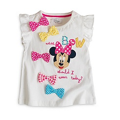 Minnie Mouse Bows T-Shirt For Kids