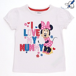 Minnie Mouse 'I Love My Mummy' T-Shirt For Kids