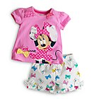 Minnie Mouse Shortie Pyjamas For Kids