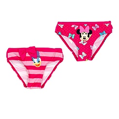 Minnie Mouse and Daisy Duck Swimming Briefs For Kids