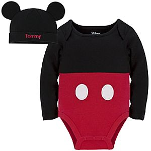 Mickey Mouse Character Body Suit & Hat