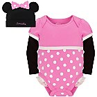 Minnie Mouse Character Body Suit & Hat