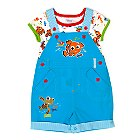 Nemo Short Leg Dungaree Set
