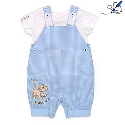 Simba Short Leg Dungaree Set