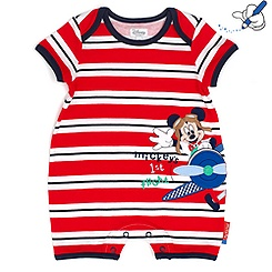 Mickey Mouse Short Sleeve Romper