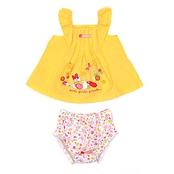 Daisy Duck Top and Brief Set