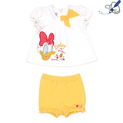 Daisy Duck Top and Shorts Set