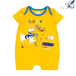 Donald Duck Short Leg Romper