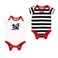 Mickey Mouse Body Suits, Pack of Two