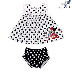 Minnie Mouse Top and Brief Set