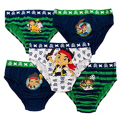 Jake and the Never Land Pirates Briefs, Pack of 5