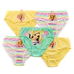 Rapunzel Briefs, Pack of 5
