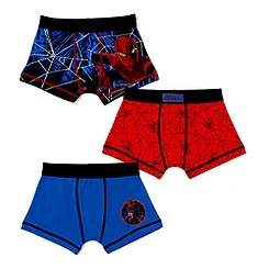 Spider-Man Trunks For Boys, Pack of 3